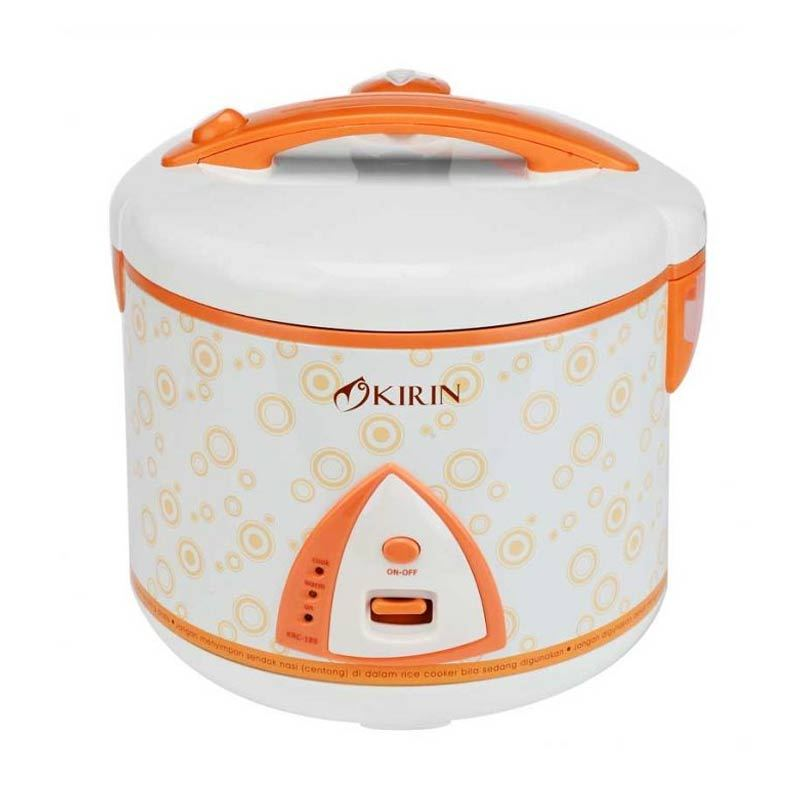 Kirin KRC-189 Magic Com 3 In 1 2L - Orange