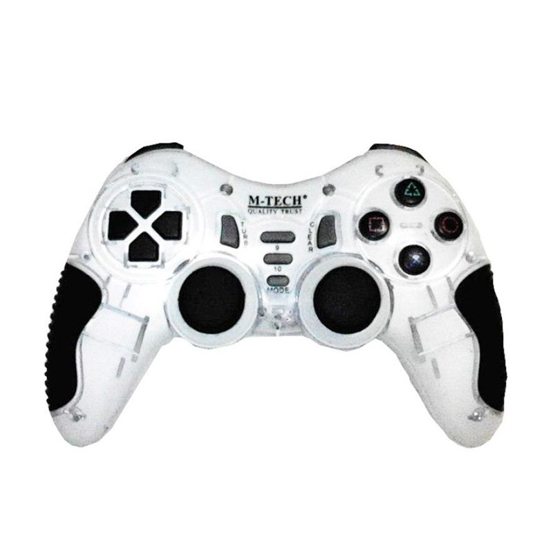 M-Tech Putih Wireless Game Pad [2.4 GHz]