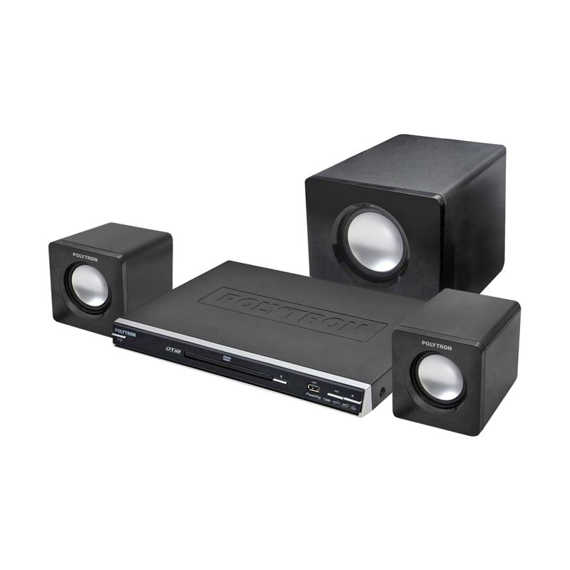 Polytron DTIB2567C Hitam Home Theatre Mini