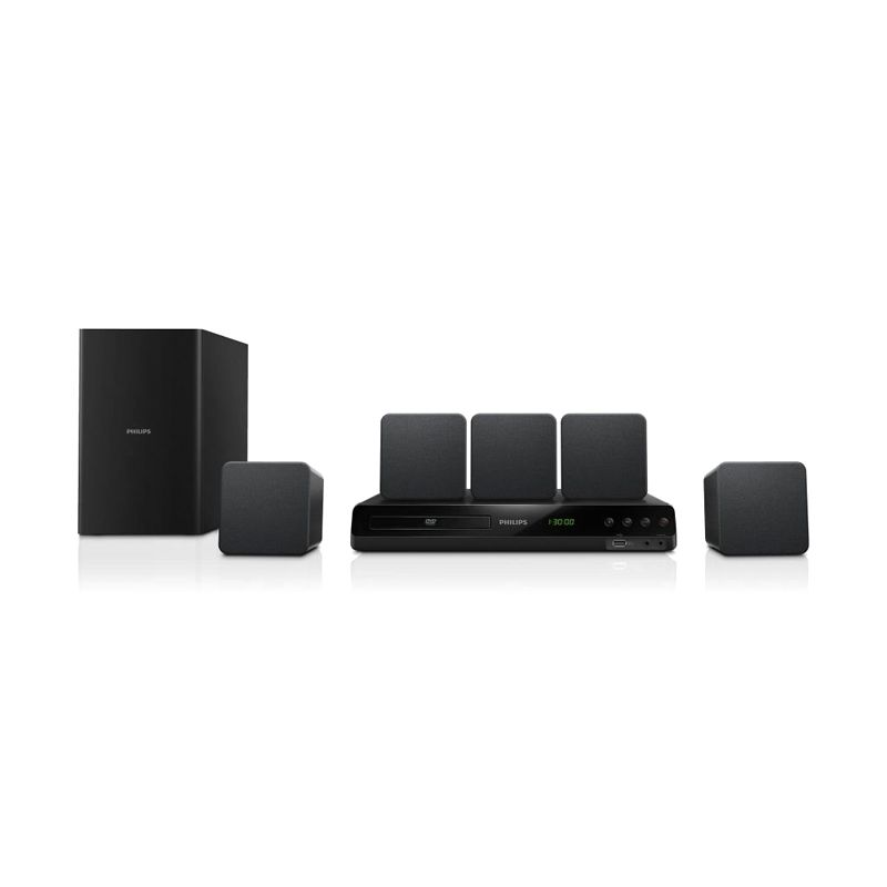Philips HTD3510G 5.1 Hitam Home Theater System