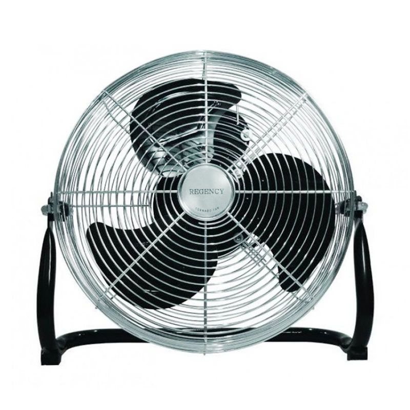 Regency FL45DLX Black Floor Fan [18 inch]