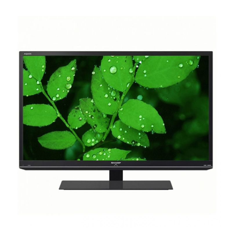 SHARP Aquos 24 Inch LC-24LE155M Hitam TV LED