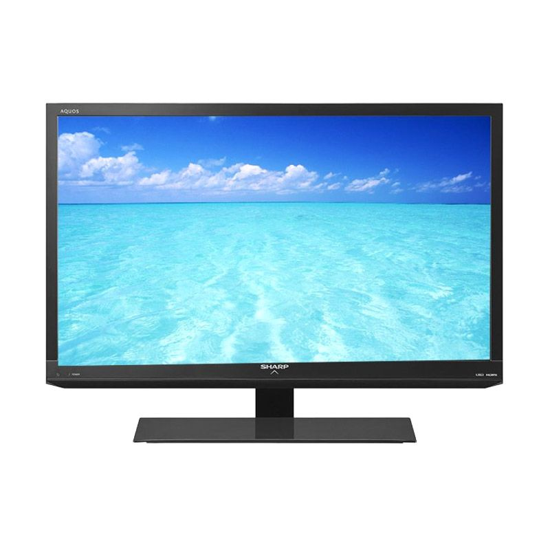 SHARP Aquos 32 Inch LC-32LE100M - Hitam TV LED