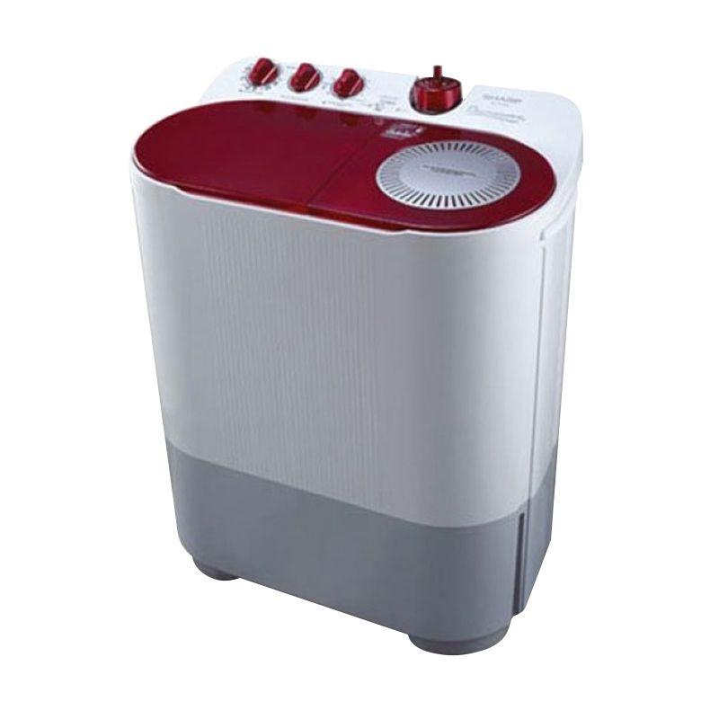 Sharp Twin Tub Washer EST77DA - Mesin Cuci