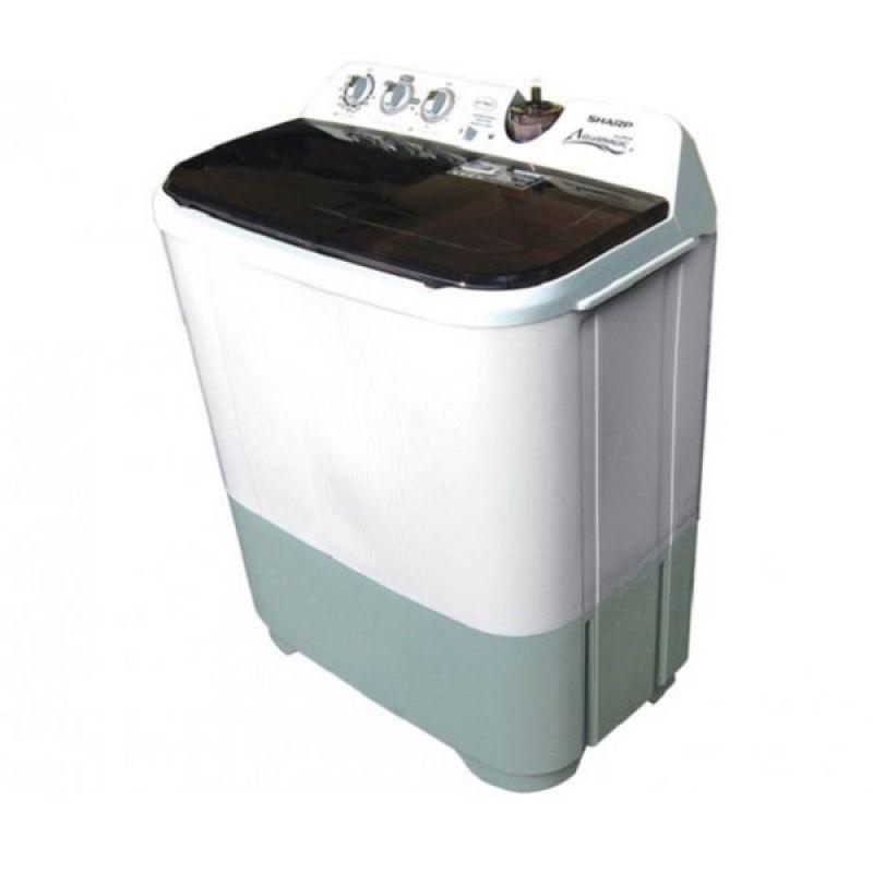 Sharp Twin Tub Washer EST85CL - Mesin Cuci