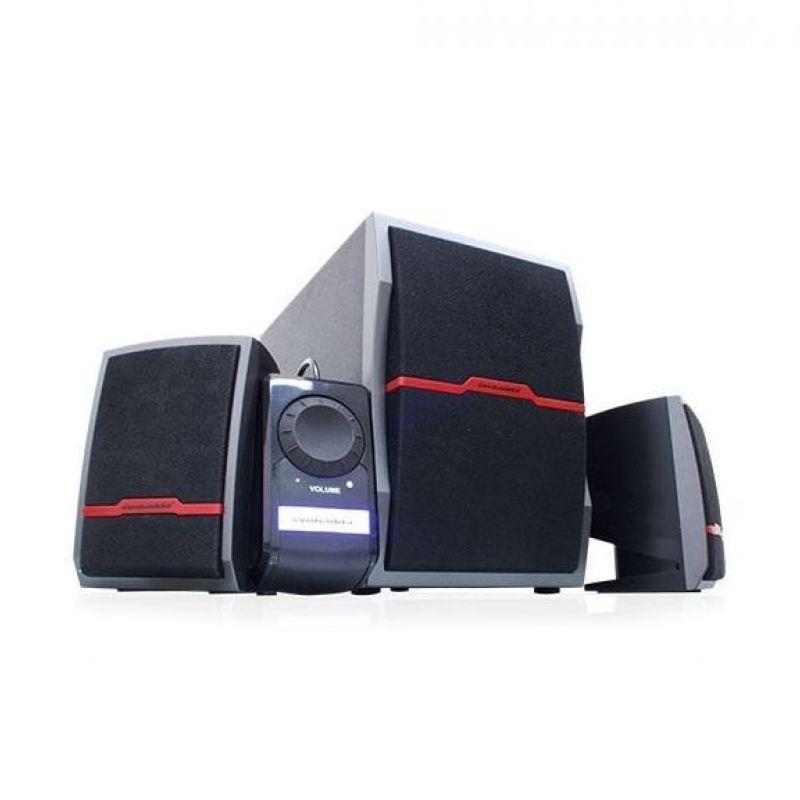 Simbadda CST 5300N Hitam Merah Speaker Multimedia