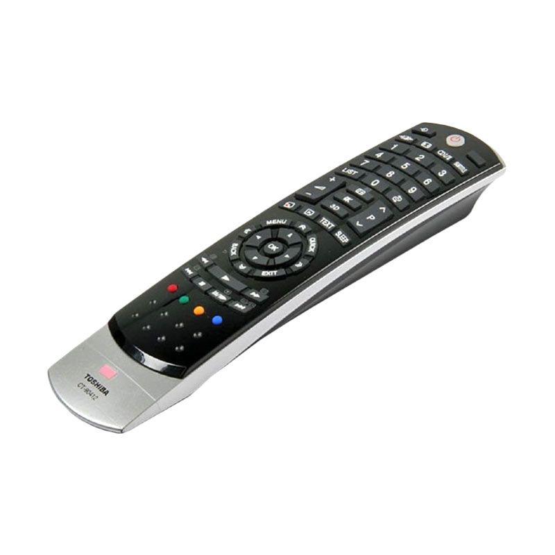 Toshiba Remote TV [LCD/LED/3D] Hitam Aksesoris TV