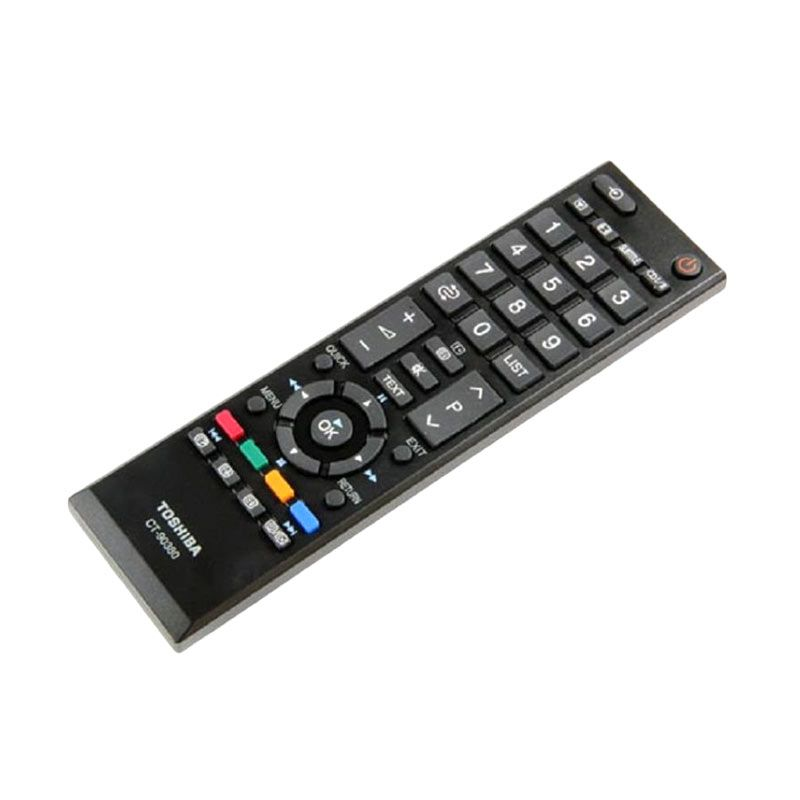 Toshiba Remote TV [LCD/LED] Hitam Aksesoris TV