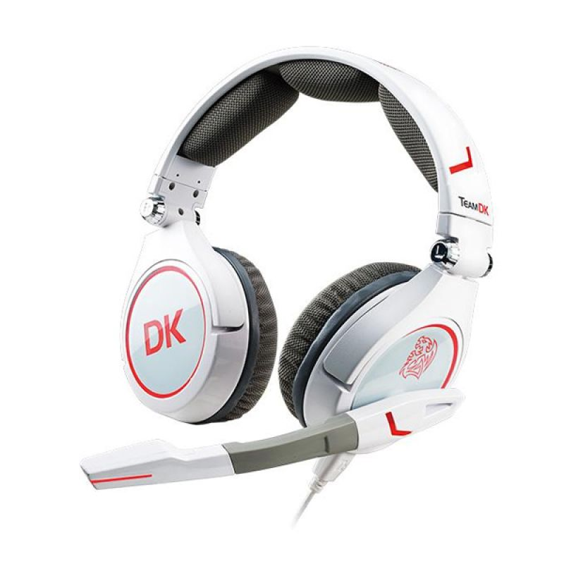 TT eSport Cronos Team DK Putih Gaming Headset
