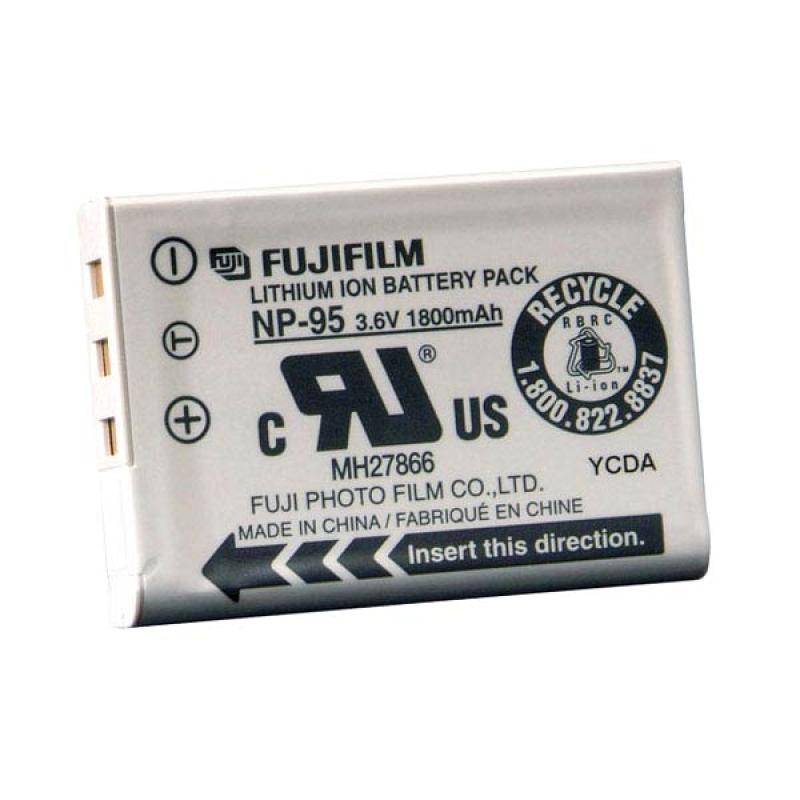 Fujifilm NP-95 Unpacking Baterai Kamera