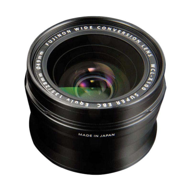 Fujifilm Wide Converter WCL-X100 Black Lensa Kamera