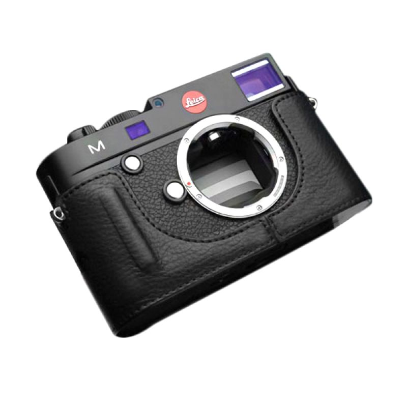 Gariz BL-LCMBK Black Half Cover Casing for Leica M