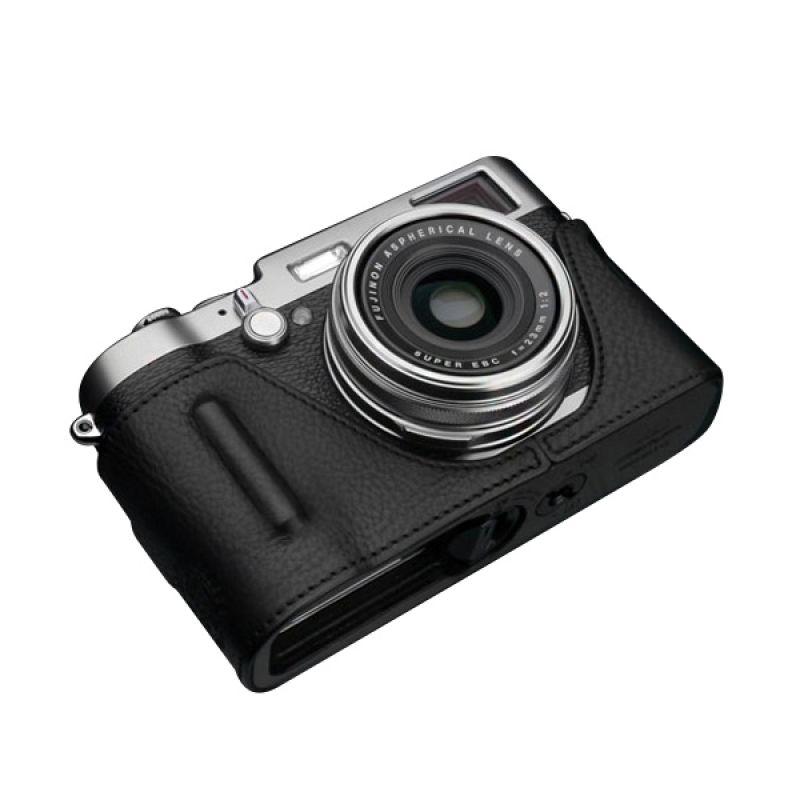 Gariz BL-X100BK Black Half Cover Casing for Fujifilm X100 or X100S
