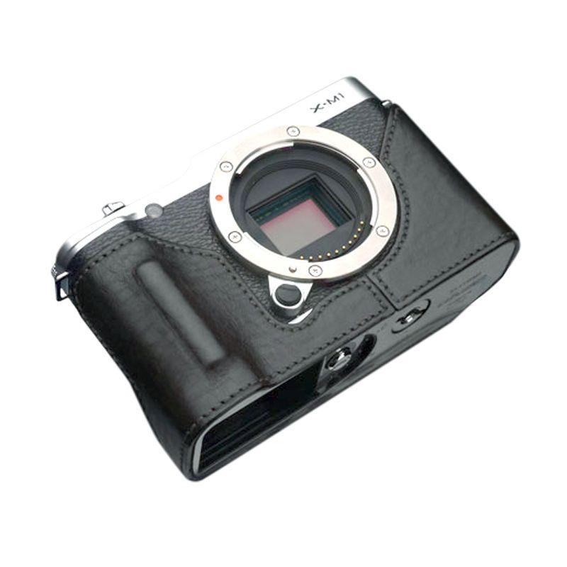 Gariz HG-XM1BK Black Half Cover Casing for Fujifilm XM1