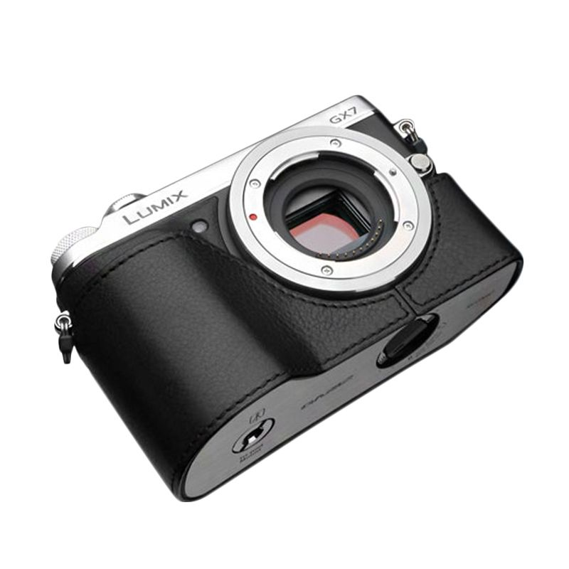Gariz XS-CHGX7BK Black Half Cover Casing for Panasonic GX7
