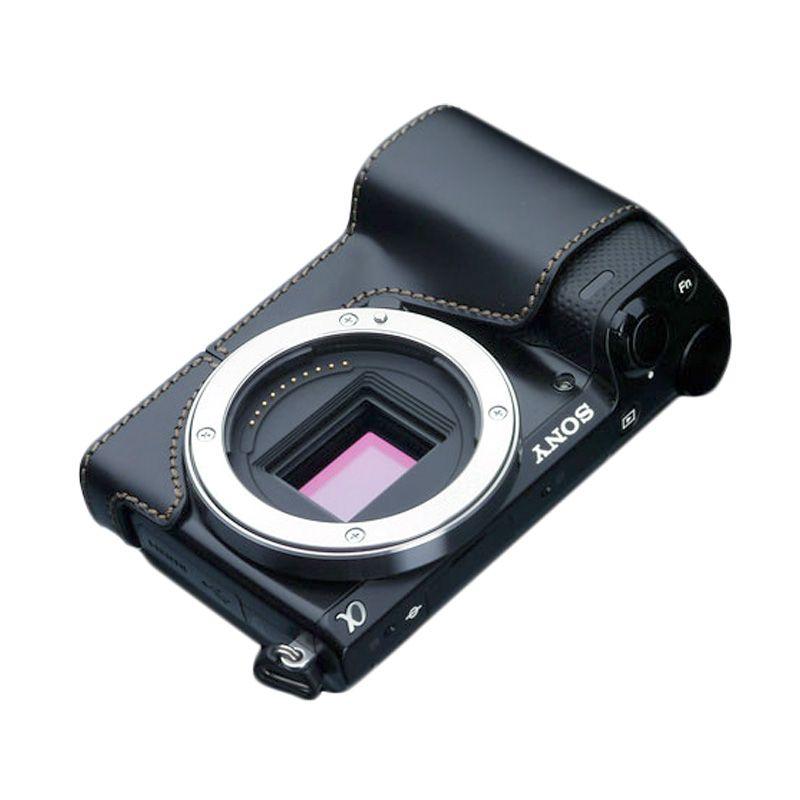 Gariz XS-CHNEX5RBKBO Black Half Cover Casing for Sony NEX5R