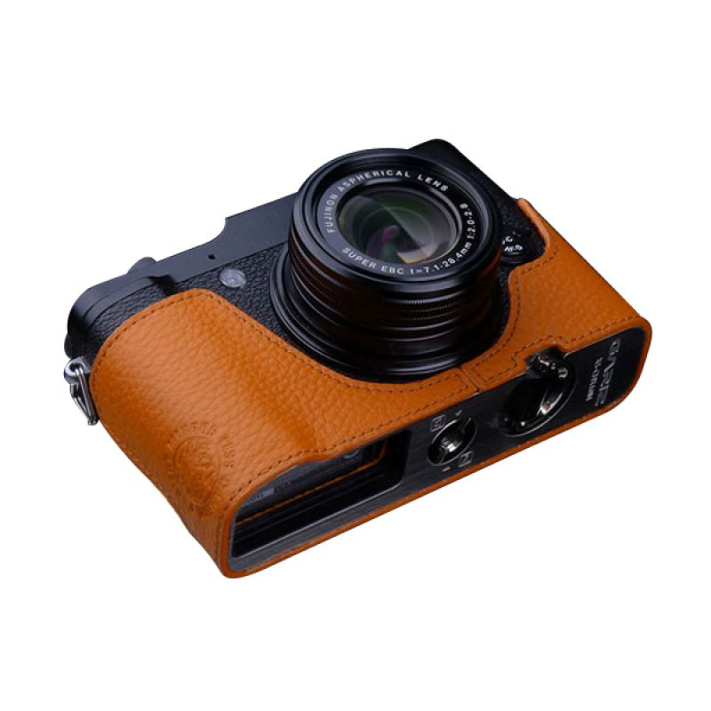 Gariz XS-CHX10OR Orange Half Cover Casing for Fujifilm X10 or X20