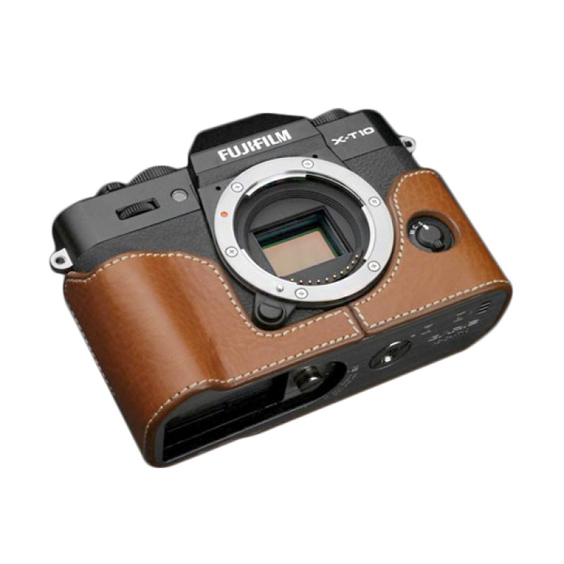 Gariz XS-CHXT10BR Brown Half Cover Casing for Fujifilm X-T10