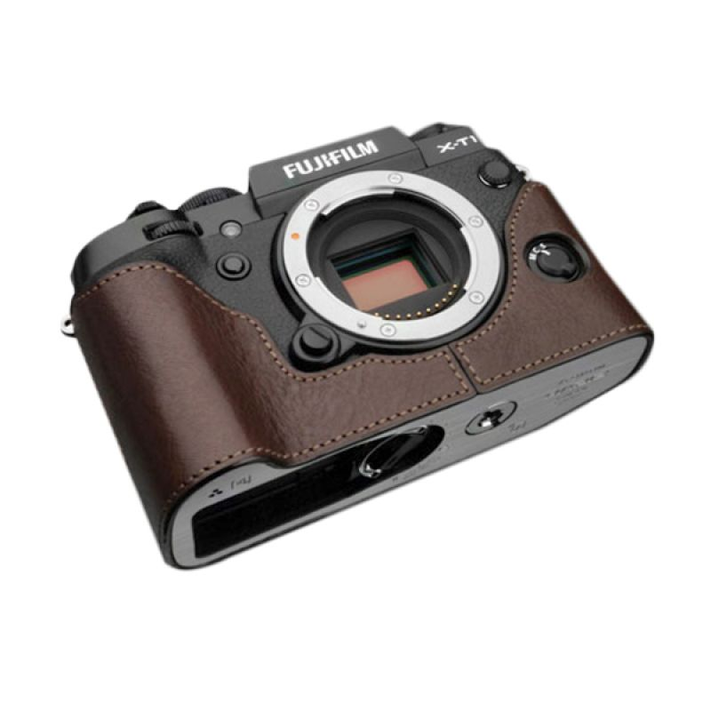 Gariz XS-CHXT1BR Brown Half Cover Casing for Fujifilm X-T1