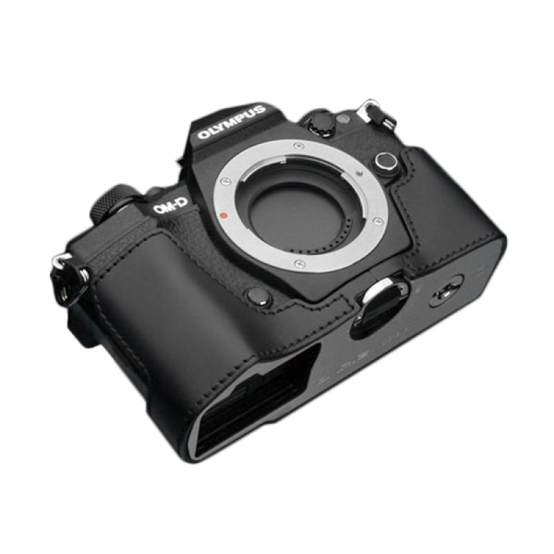 Gariz XS-EM5IIBK Black Half Cover Casing for Olympus E-M5II