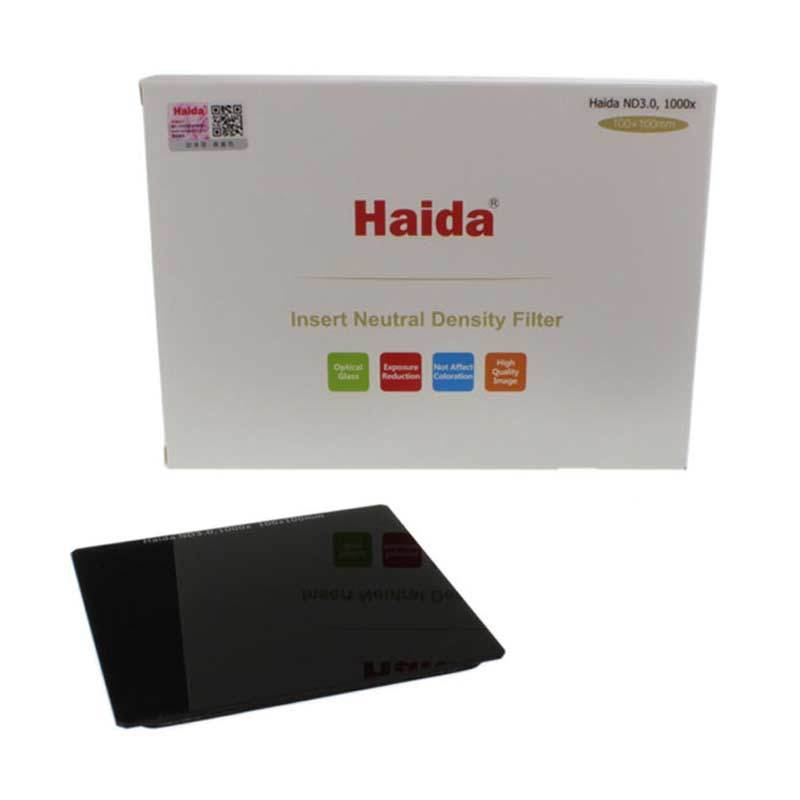 Haida 100 Series ND 3.0 1000x 10 Stop Filter