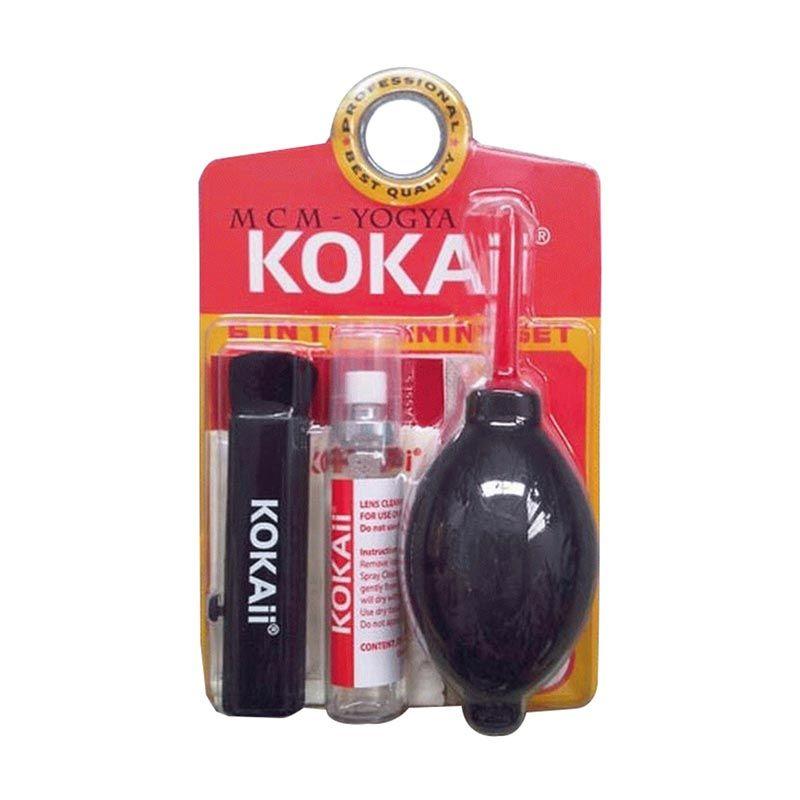 Kokai Cleaning Kit Hitam Pembersih Kamera [6 in 1]