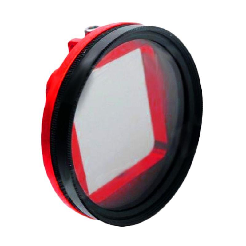 Third Party Gopro Aluminium 52mm Red Bracket Filter