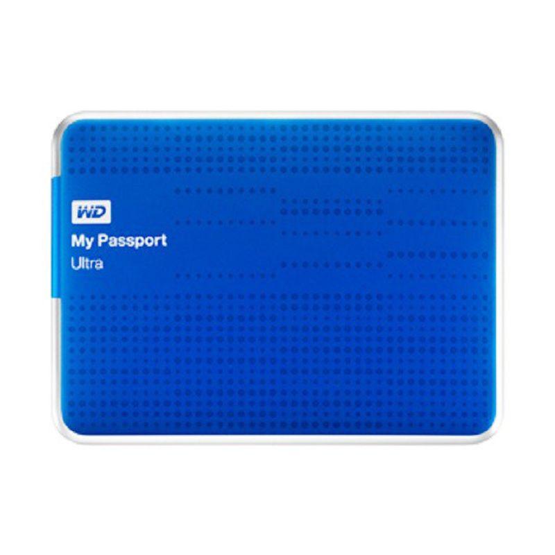 WD My Passport Ultra 1 TB Biru Hard Disk Eksternal