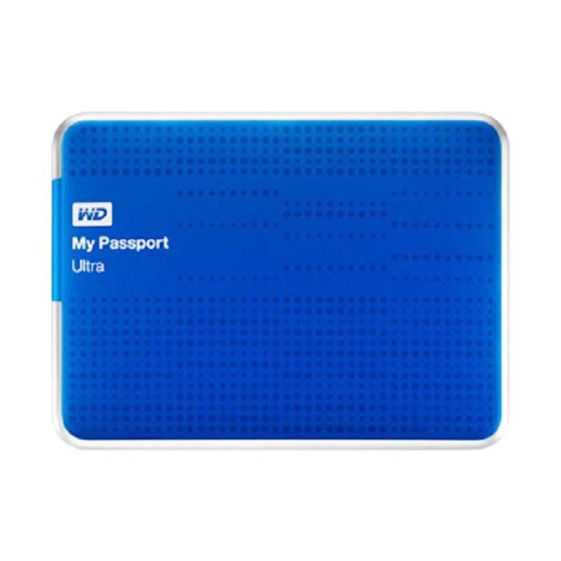 WD My Passport Ultra 2 TB Biru Hard Disk Eksternal