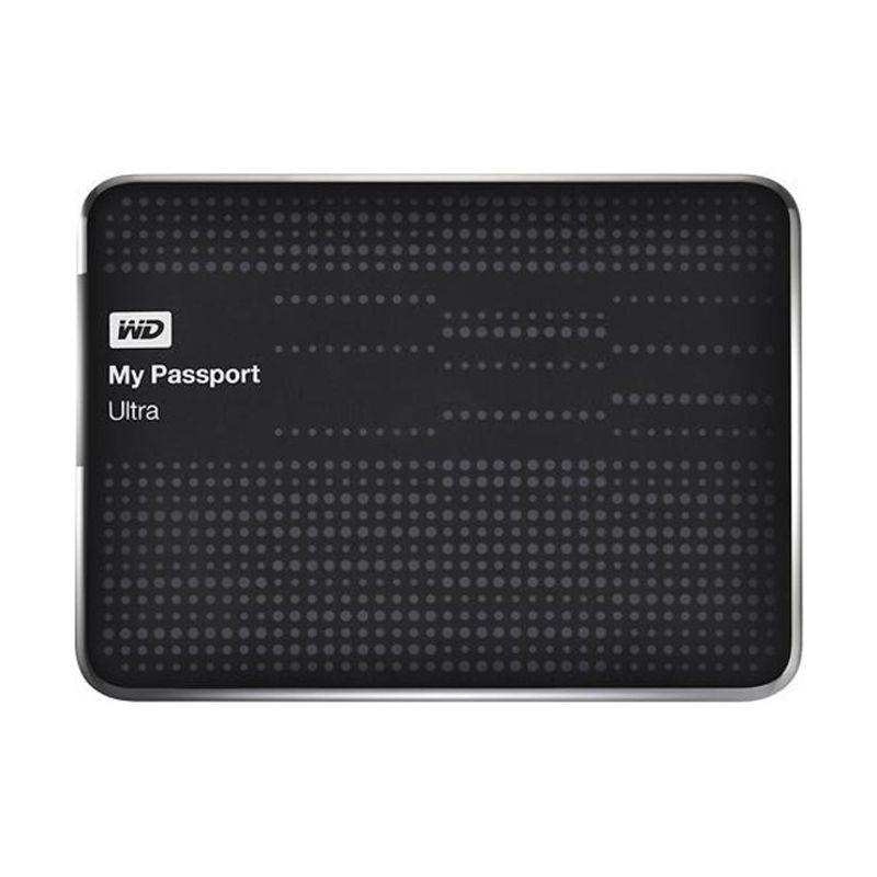 WD My Passport Ultra 2 TB Hitam Hard Disk Eksternal