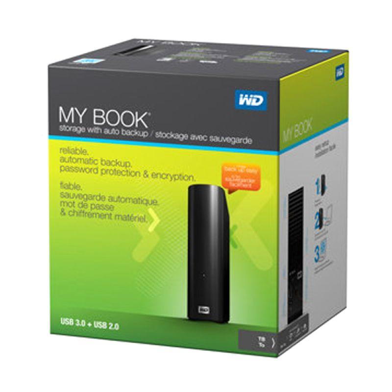 WD Mybook Personal 3 TB 3.5 Inch Harddisk