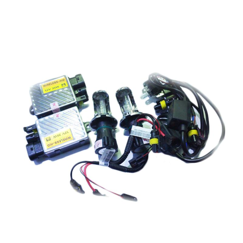 Auto One HID Wireless Lamp H11 8000 K Aksesoris Lampu Mobil