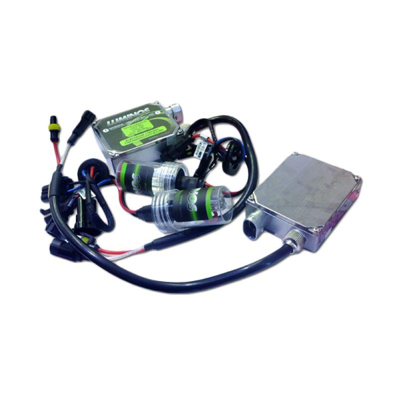 Auto One Luminos HID Lamp H4 6000 K Aksesoris Lampu Mobil