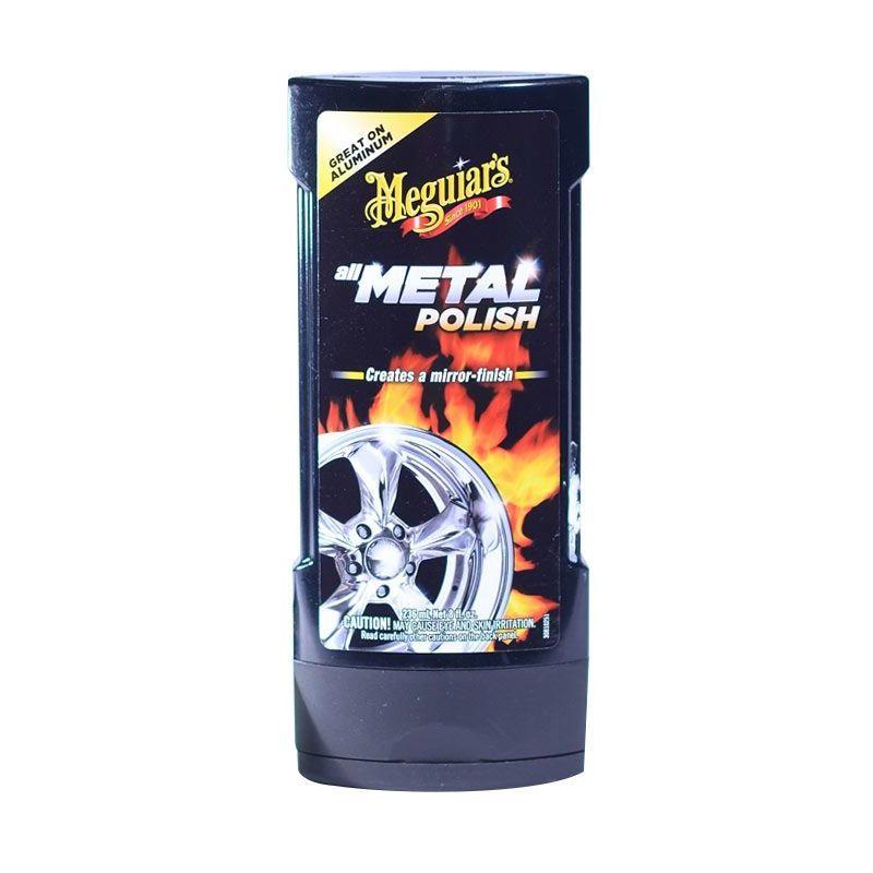 Meguiar's All Metal Polish Cairan Pembersih Mobil