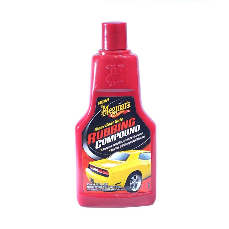 Meguiar's Clear Coat Safe Rubbing Compound Cairan Pembersih Mobil