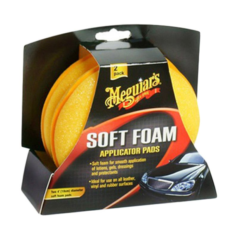 Meguiar's Soft Foam Applicator Pad [2 pad]