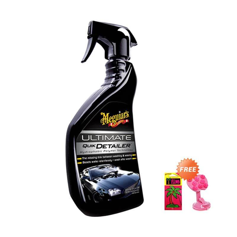 PROMO Meguiar's Ultimate Quik Detailer Pembersih Mobil [650 mL] GET FREE Phone Holder + California Paper Scents