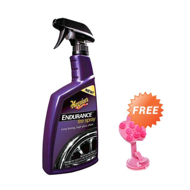 PROMO BUY 1 [ Meguiars Endurance Tire Spray [710 mL] Pembersih & Pengkilap Ban]  GET 1 FREE Phone Holder