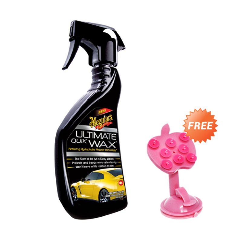 PROMO BUY 1 [ Meguiars Ultimate Quik Wax[473 mL] GET 1 FREE Phone Holder
