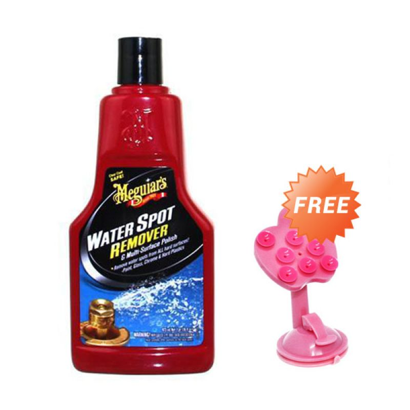 PROMO BUY 1 [ Meguiars Water Spot Remover [473 mL] Pembersih Mobil GET 1 FREE Phone Holder