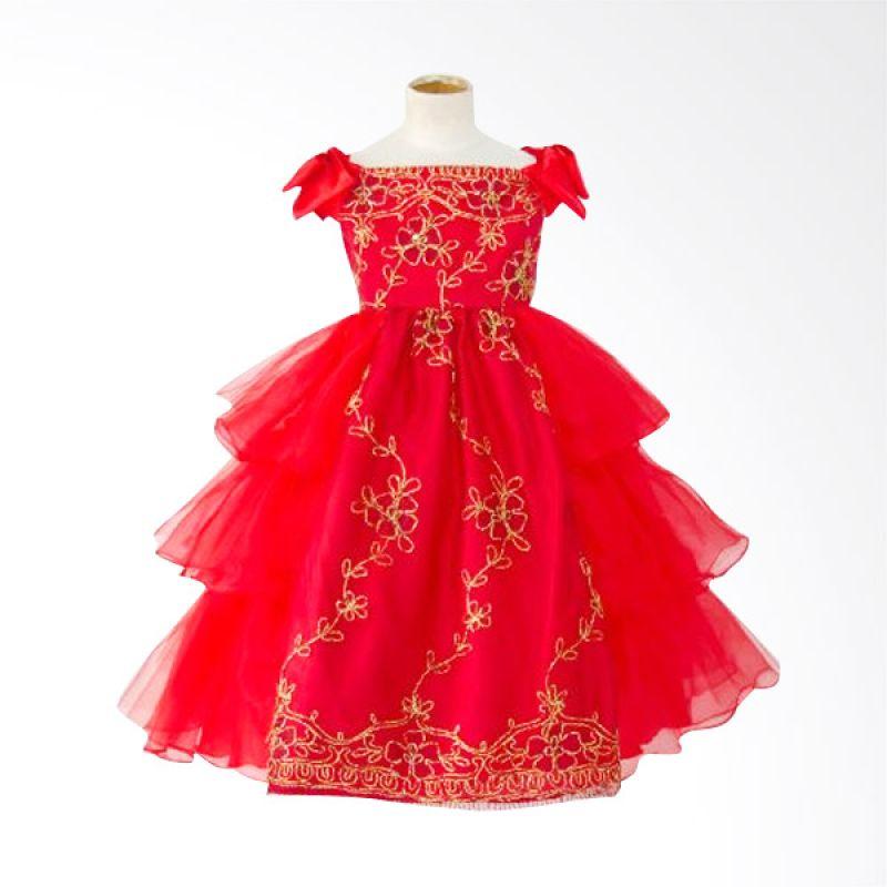 Megumi House Bianca Merah Dress Anak