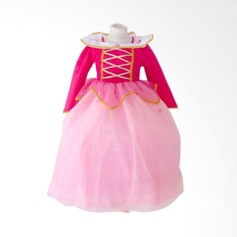 Megumi House Florencia Pink Dress Anak