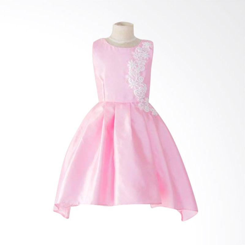 Megumi House Georgia Pink Dress Anak