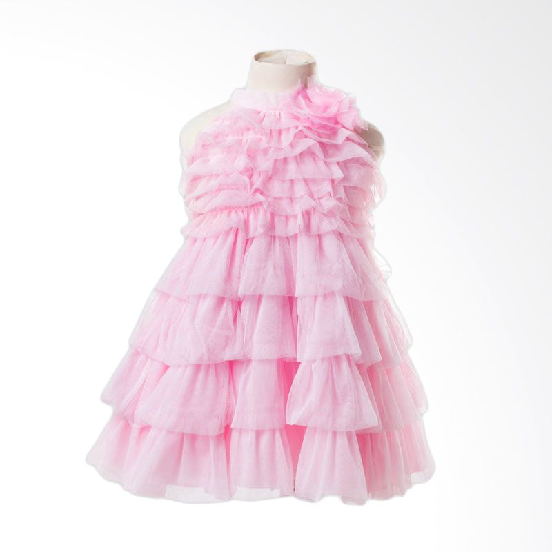 Megumi House Priscilla Dress Pink