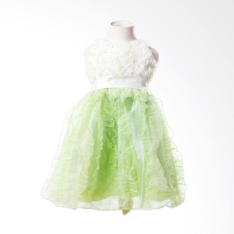 Megumi House Sofia Dress Green