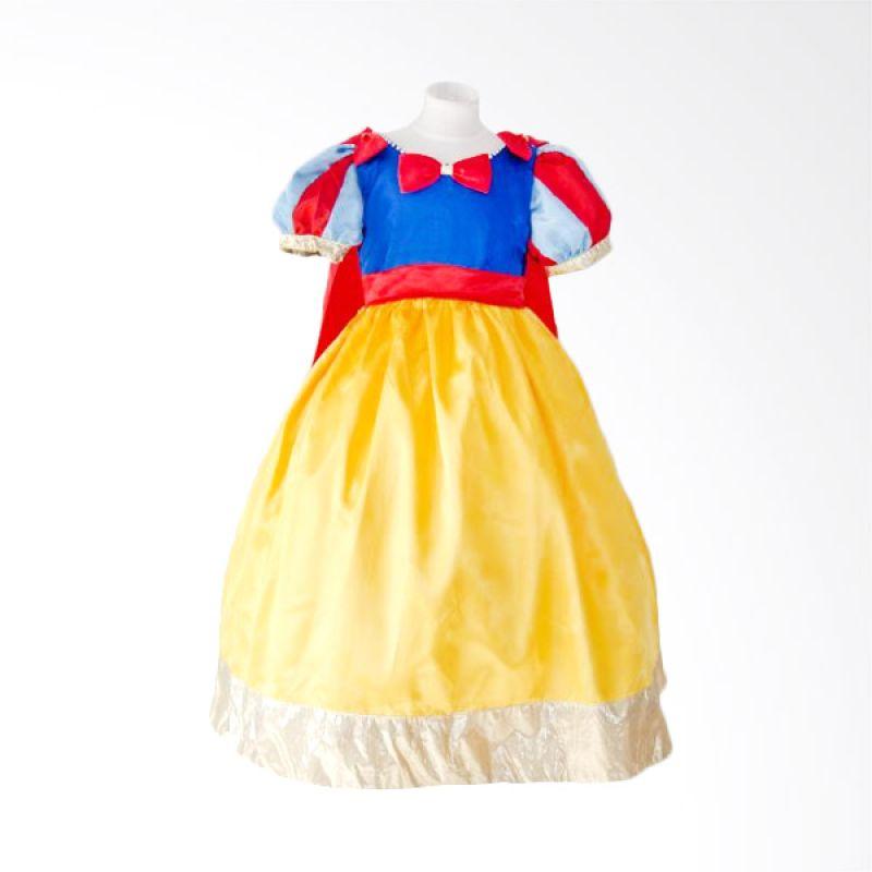 Megumi Snow White Biru Dress Anak