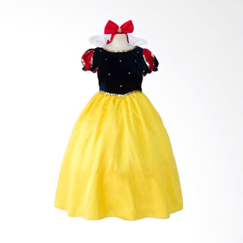 Megumi Snow White Hitam Dress Anak