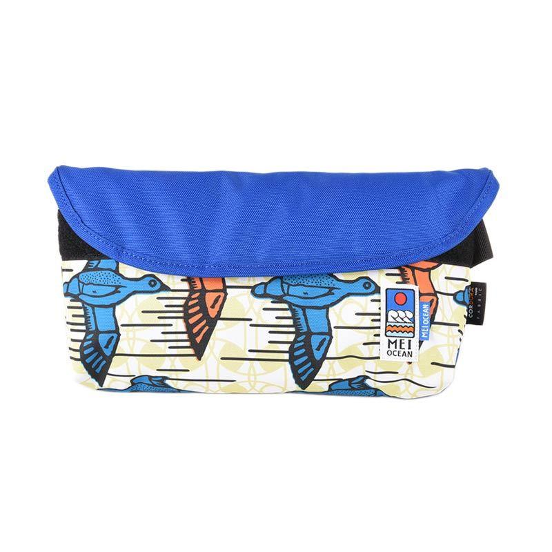 Mei Bag Ocean Light Messenger Wild Duck WAK0002250.XY011.360 Blue Clutch