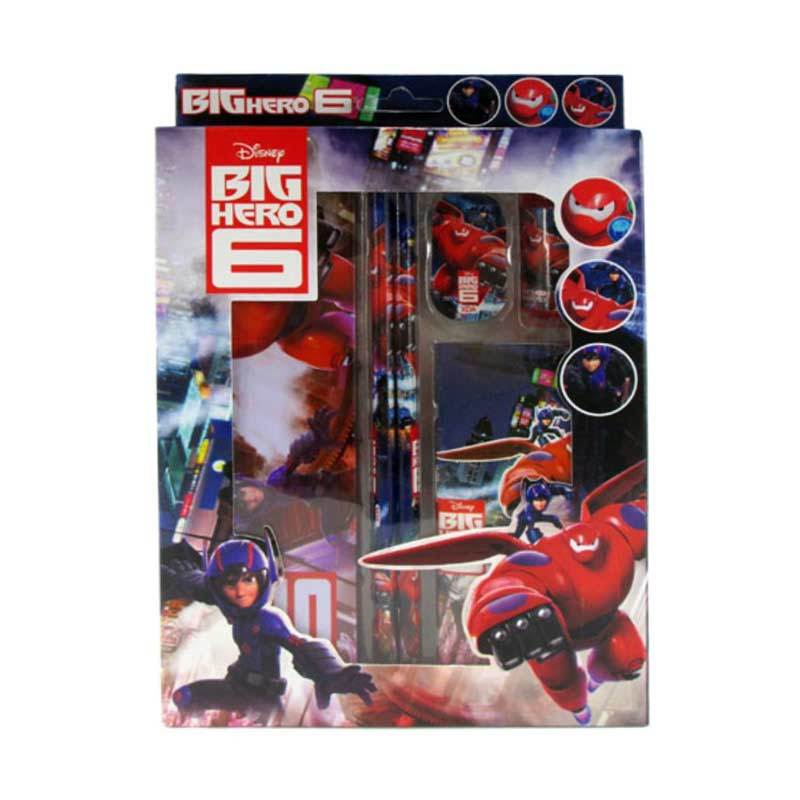 MeilynGiftShop Big Hero XDA-HJ 8822 Stationery Set Alat Tulis