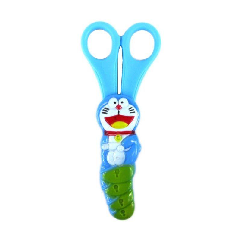 MeilynGiftShop Doraemon Biru Gunting
